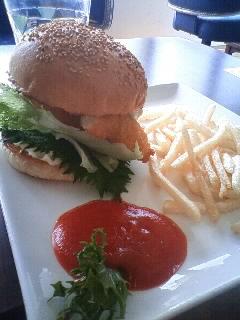 ハンバーガー!